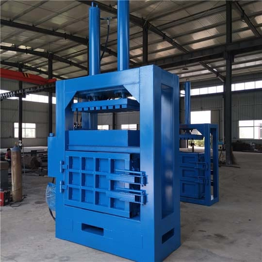 Vertical metal baler machine for sale