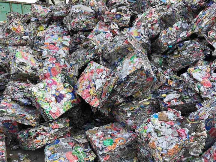 Baled aluminum cans for selling with good price