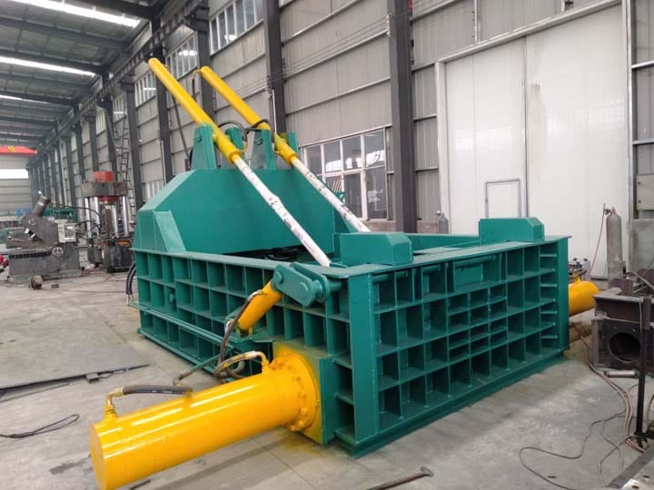 commercial metal baler