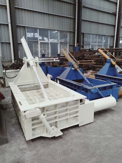 different types of metal balers are in stock