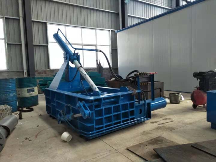 horizontal metal baler machine for sale