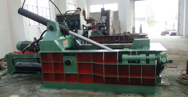 hydraulic aluminum can baler machine