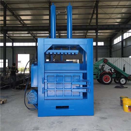 hydraulic baler machine for waste metal