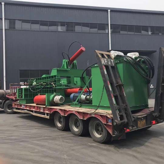 large-tonnage metal baler for shipping