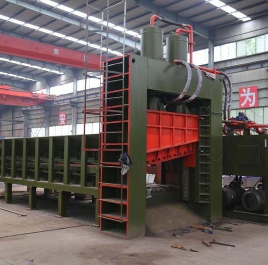 600T metal shearing machine