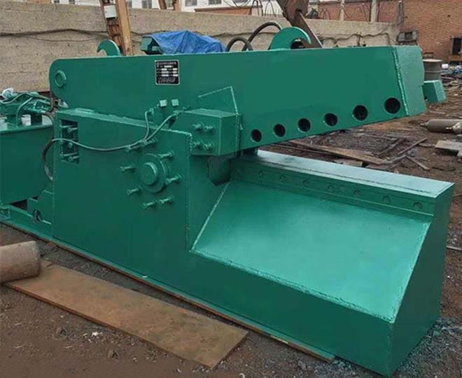alligator metal shear machine