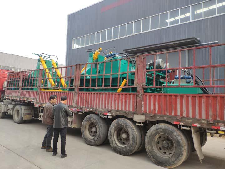 horizontal metal recycling machines for shipping