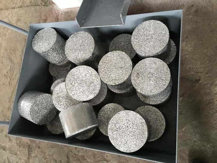 metal scrap briquettes