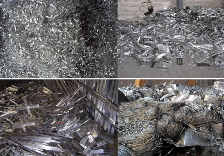 aluminum scrap for baling