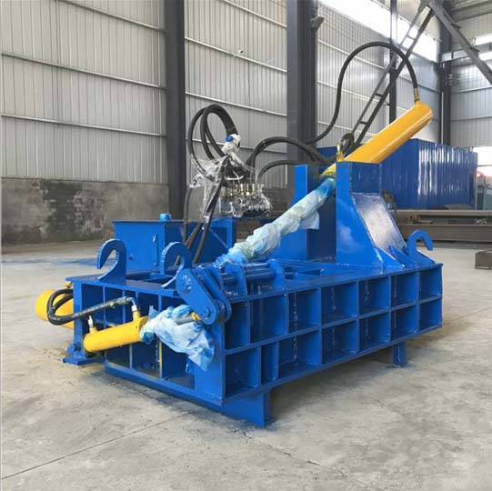 hydraulic aluminum cans recycling machine