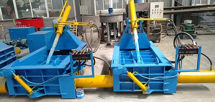 scrap iron baler machine for sale